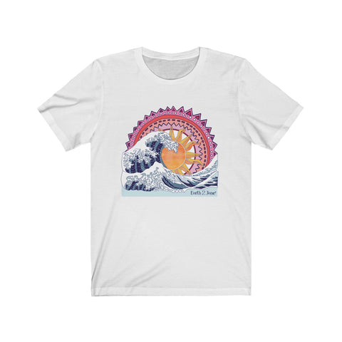 Earth 2 Jane 'Wave Art' Tee
