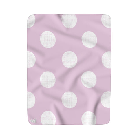 Earth 2 Jane 'Soul' Dot Sherpa Fleece Blanket