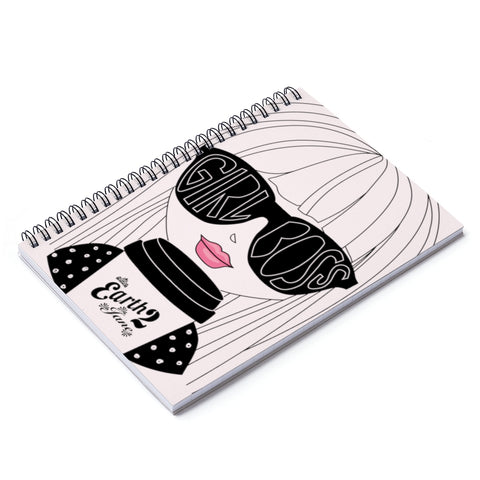 Earth 2 Jane 'Meet Jane' Spiral Notebook - Ruled Line