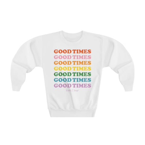 Earth 2 Jane 'Good Times' Youth Sweatshirt