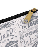 Earth 2 Jane 'In Love Powder Pink' Accessory Pouch