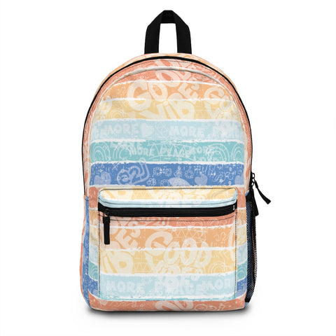 Earth 2 Jane 'Surfer Vibes' Backpack (Made in USA)