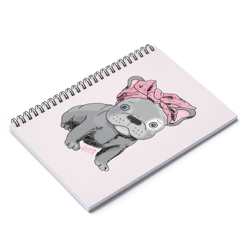 Earth 2 Jane 'Frenchie' Spiral Notebook - Ruled Line
