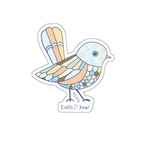 "Earth 2 Jane ""Tweet' Sticker"