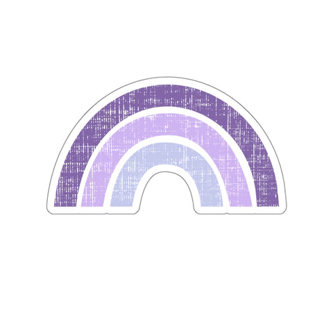 Earth 2 Jane 'Purple Rainbow' Sticker
