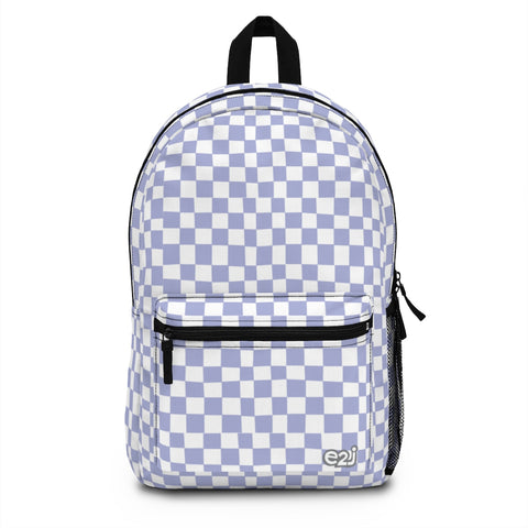 Earth 2 Jane 'Purple Checkers' Backpack (Made in USA)