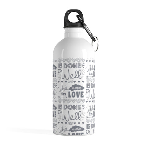 Earth 2 Jane 'In Love' Water Bottle