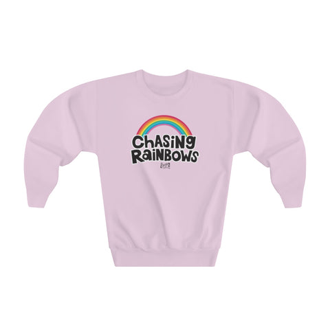 Earth 2 Jane 'Chasing Rainbows' Youth Sweatshirt