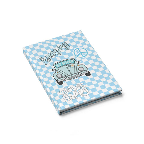 Earth 2 Jane 'Blue Checkers' Journal - Blank