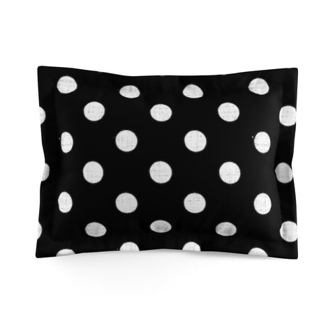Earth 2 Jane 'Butterfly' Black Dot Pillow Sham