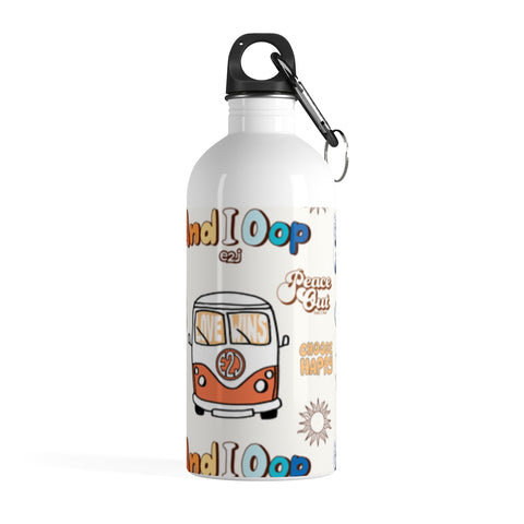 Earth 2 Jane 'Rainbow VSCO Sticker' Water Bottle