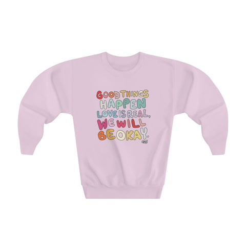 Earth 2 Jane 'Good Things' Youth Sweatshirt