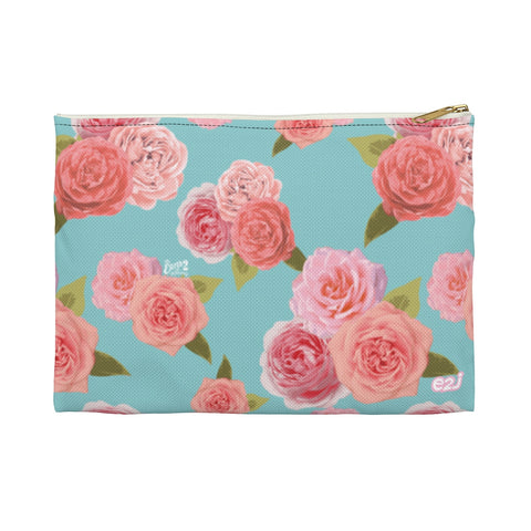 Earth 2 Jane 'Rose Print' Accessory Pouch