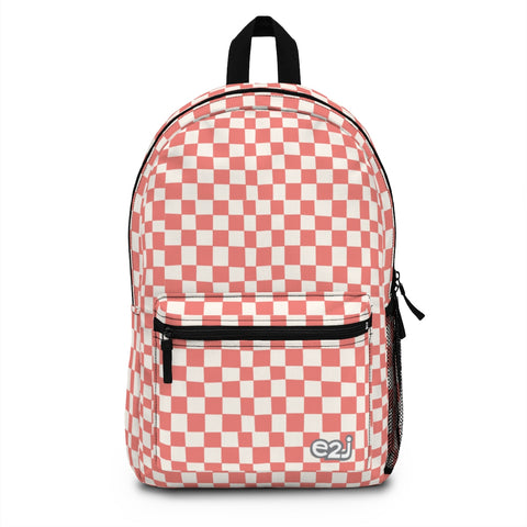Earth 2 Jane 'Red Checkers' Backpack (Made in USA)