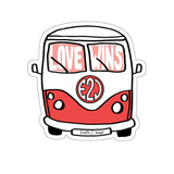 Earth 2 Jane 'Red Van' Sticker