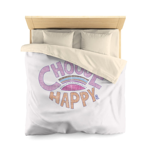 Earth 2 Jane 'Happy' Duvet Cover
