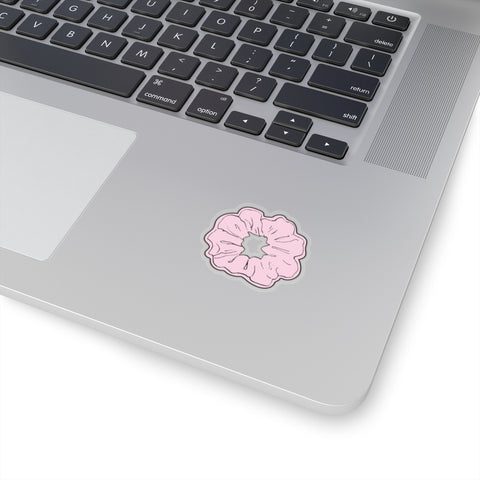 Earth 2 Jane 'Light Pink Scrunchie' Sticker