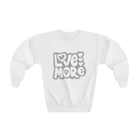 Earth 2 Jane 'Love More' Youth Sweatshirt