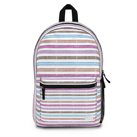 Earth 2 Jane 'Happy' Stripe Backpack (Made in USA)