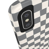 Earth 2 Jane 'Grey Checkers' Phone Case