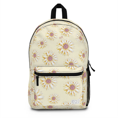 Earth 2 Jane 'Yellow Sunflower' Backpack (Made in USA)