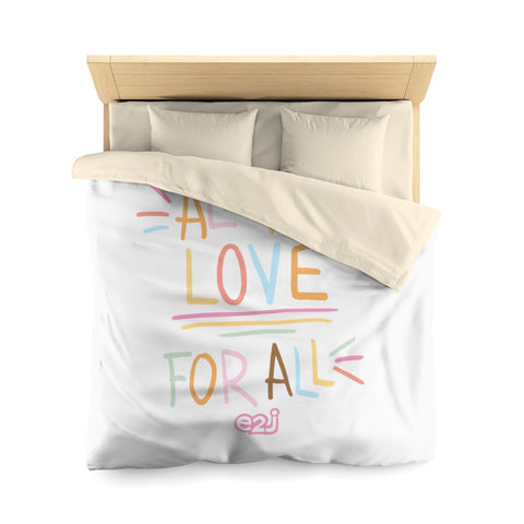 Earth 2 Jane 'All for Love'  Duvet Cover