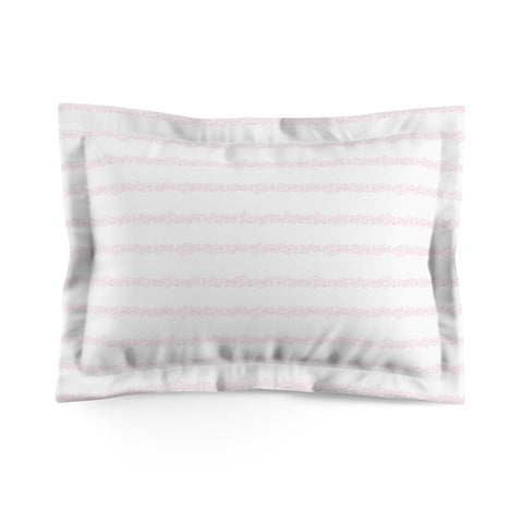 Earth 2 Jane 'Be The Girl' Pink Pillow Sham