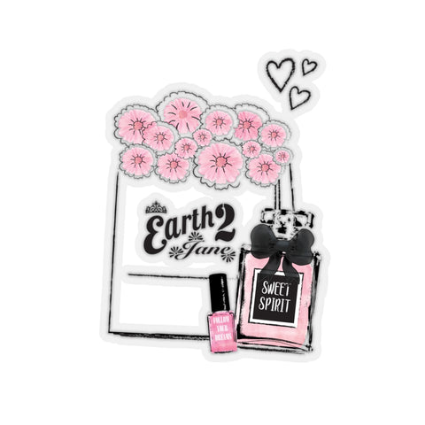 Earth 2 Jane 'Beauty Secrets' Sticker