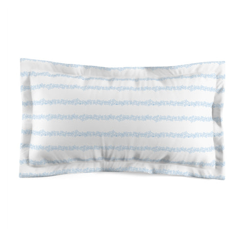 Earth 2 Jane 'Be The Girl' Blue Pillow Sham