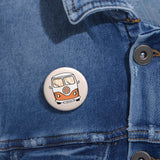 Earth 2 Jane 'Surfer Van' Pin Buttons