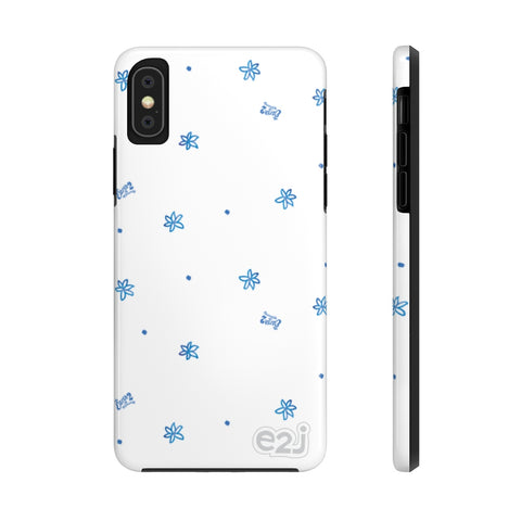 Earth 2 Jane 'Blue Flowers' Phone Case