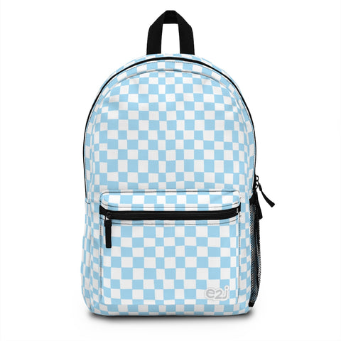 Earth 2 Jane 'Blue Checkers' Backpack (Made in USA)