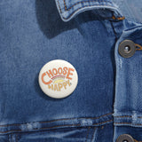 Earth 2 Jane 'Choose Happy' Pin Buttons