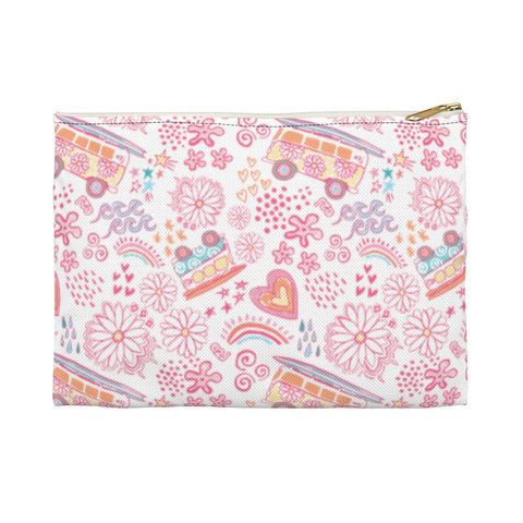 Earth 2 Jane 'VSCO Pink' Accessory Pouch