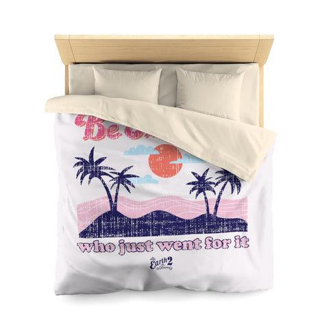 Earth 2 Jane 'Be the Girl' Pink Duvet Cover