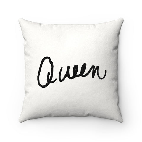 Earth 2 Jane 'Queen' Square Pillow