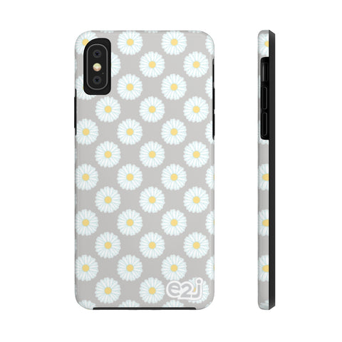 Earth 2 Jane 'Grey Daisies' Phone Case
