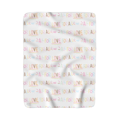Earth 2 Jane 'All For Love' Sherpa Fleece Blanket
