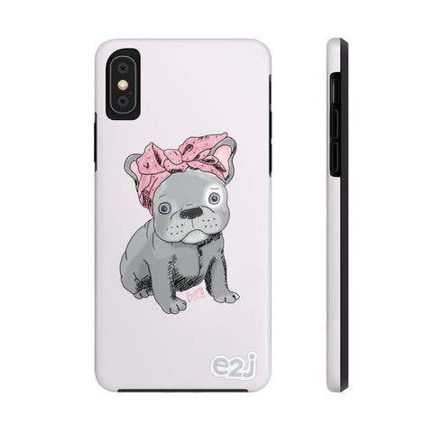 Earth 2 Jane 'Grey Frenchie' Phone Case