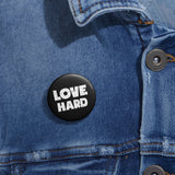 Earth 2 Jane 'Love Hard' Pin Buttons