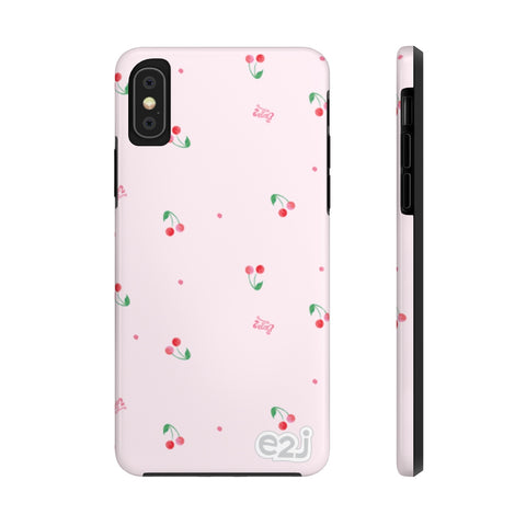 Earth 2 Jane 'Pink Cherries' Phone Case
