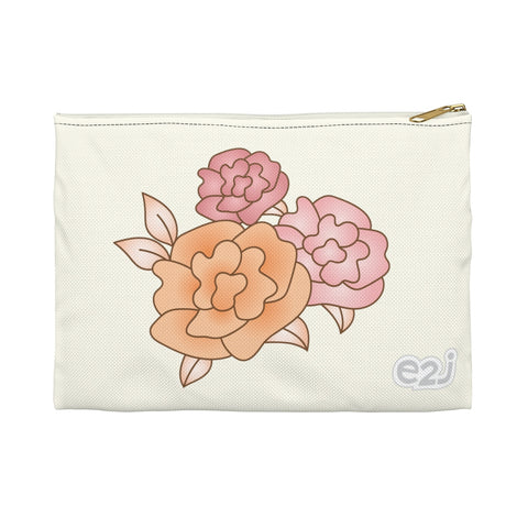 Earth 2 Jane 'Vintage Roses' Accessory Pouch