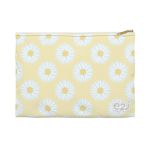 Earth 2 Jane 'Yellow Daisies' Accessory Pouch