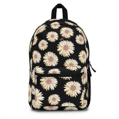 Earth 2 Jane 'Black Sunflower' Backpack (Made in USA)
