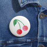 Earth 2 Jane 'Cherries' Pin Buttons