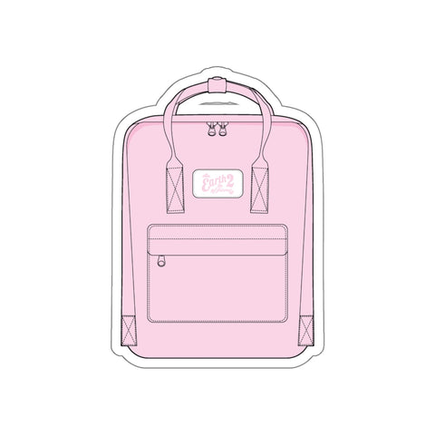 Earth 2 Jane 'Pink Bag' Sticker