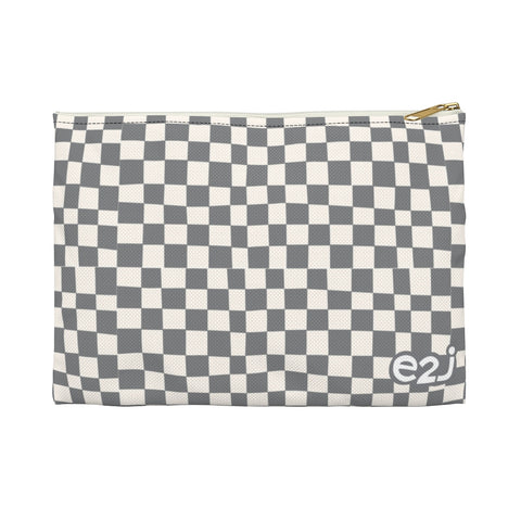 Earth 2 Jane 'Grey Checkers' Accessory Pouch