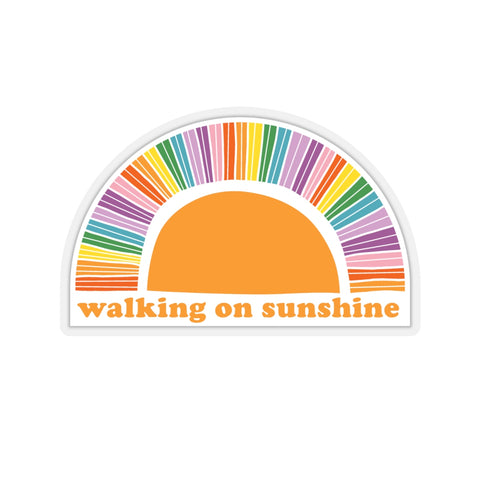 Earth 2 Jane 'Walking On Sunshine' Sticker