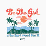 Earth 2 Jane 'Be The Girl' Duvet Cover