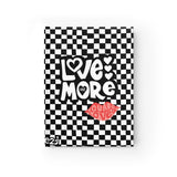 Earth 2 Jane 'Black Checkers' Love More Journal - Blank